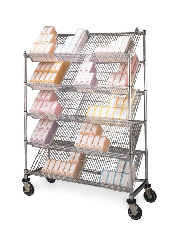 Slanted Shelf Dividers
