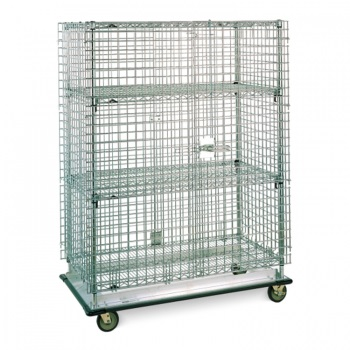 Metro Stainless Security Carts