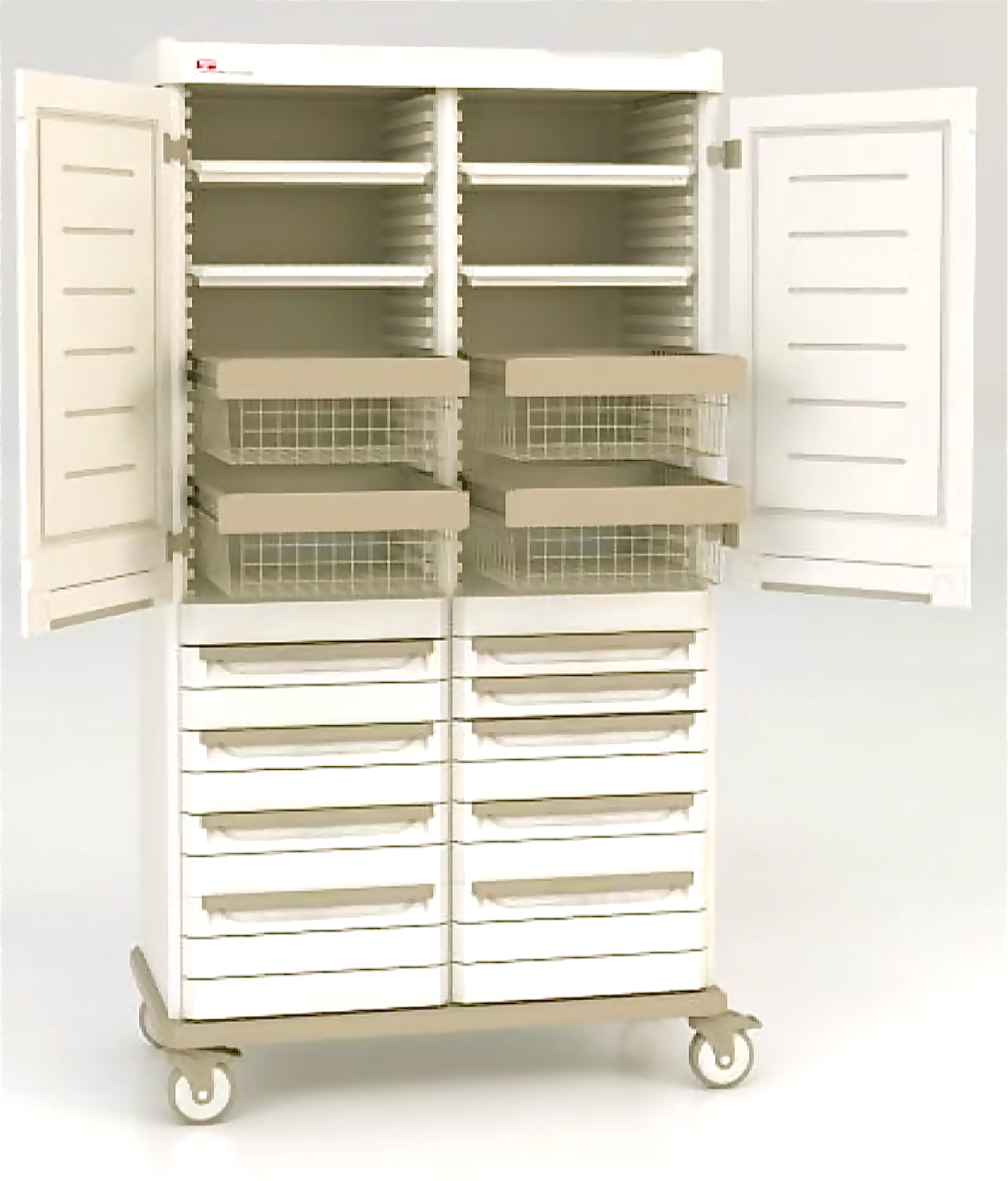 Starsys Double Wide Two Bay Supply Cabinet