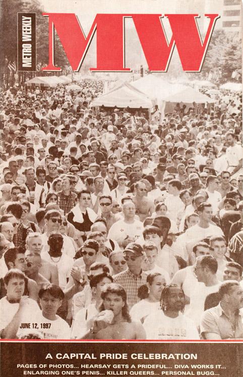 Capital Pride Festival cover June 12, 1997