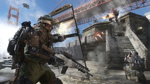 CoD AW_Defender_Under the Bridge
