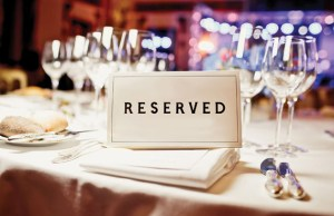 Dinner Reservation: Photo by Andrey Bayda