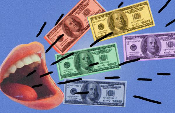 Money Talks illustration
