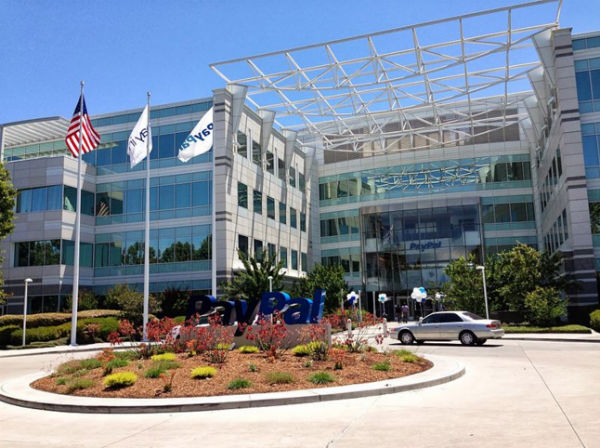 PayPal headquarters in San Jose, Calif. (Photo: Sagar Savla, via Wikimedia).