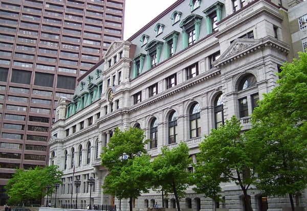 John Adams Courthouse, home to the Massachusetts Supreme Judicial Court - Photo: Swampyank, via Wikimedia.