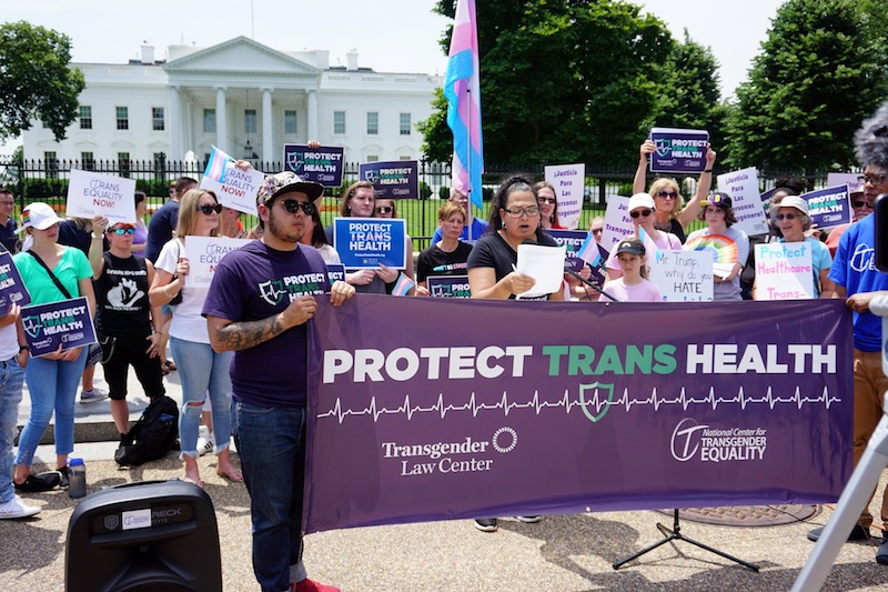 trump, trans, transgender, health care