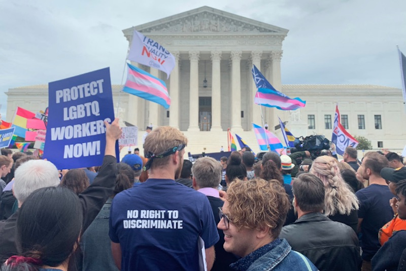 supreme court, lgbtq, workers, discrimination, conservatives