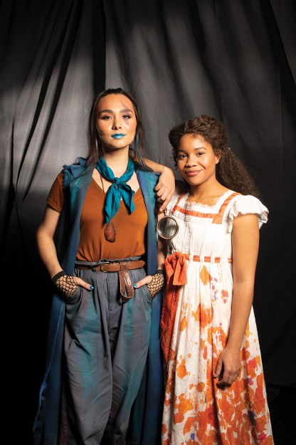 Isabella Star LaBlanc as Tiger Lily and Sinclair Daniel as Wendy Darling -- Photo: Todd Franson