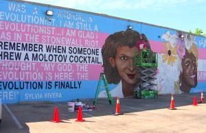 trans, mural, dallas, metro weekly