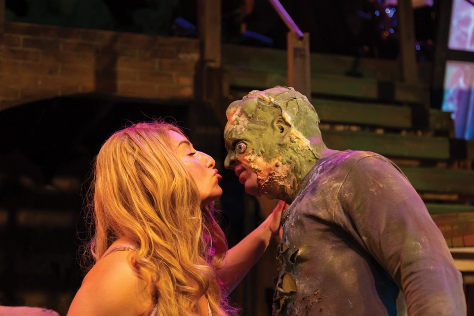 toxic avenger, rorschach theatre, musical
