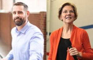 Brian Sims, Elizabeth Warren, endorse, president