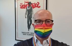 poland, embassy, jonathan knott, rainbow, lgbtq