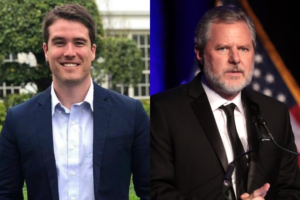 Jerry Falwell, liberty university, evangelical, christian, Giancarlo Granda