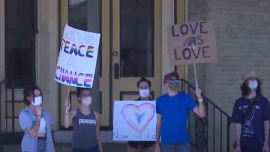 wenger's, store, sign, anti-gay, pride, pennsylvania