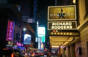 broadway, hamilton, theater