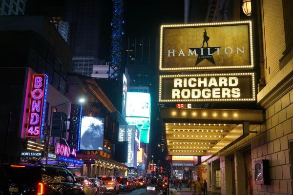 broadway, hamilton, theater