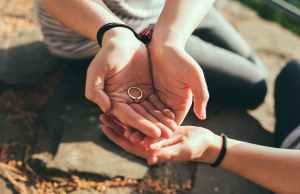 marriage, wedding, couple, ring