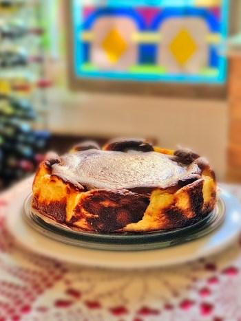 Basque Burnt Cheesecake -- Photo by Craig Bowman