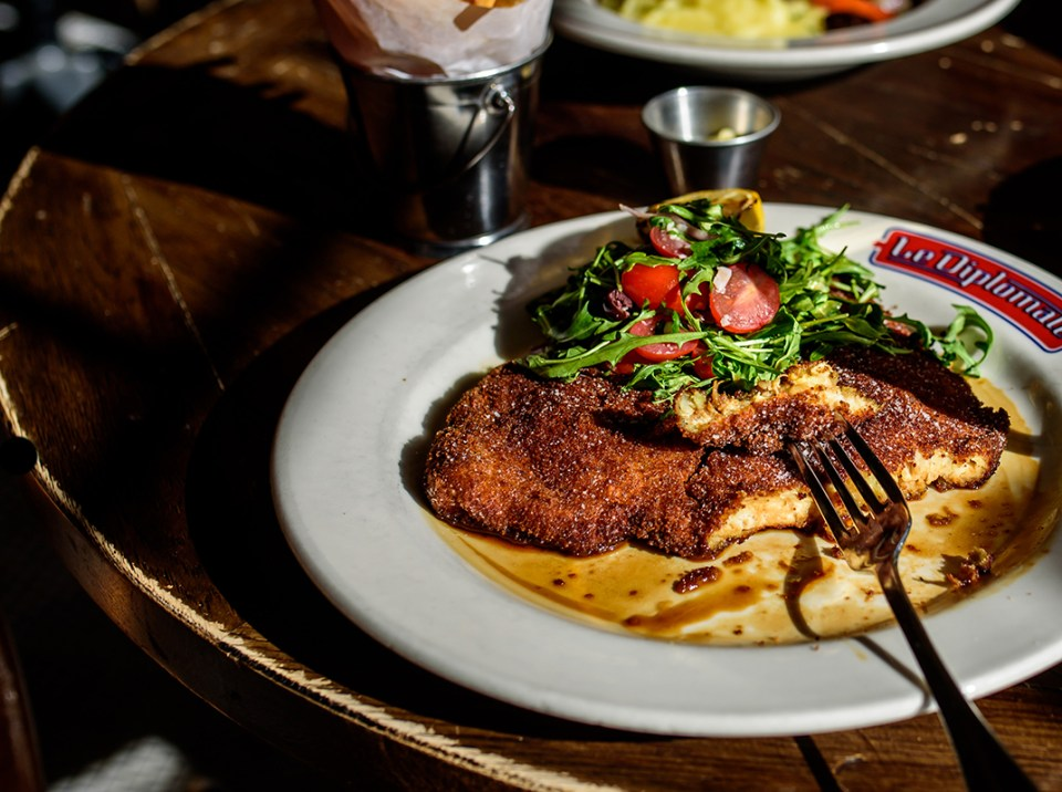 Le Diplomate -- Chicken Milanese