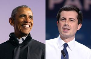 Barack Obama, Pete Buttigieg
