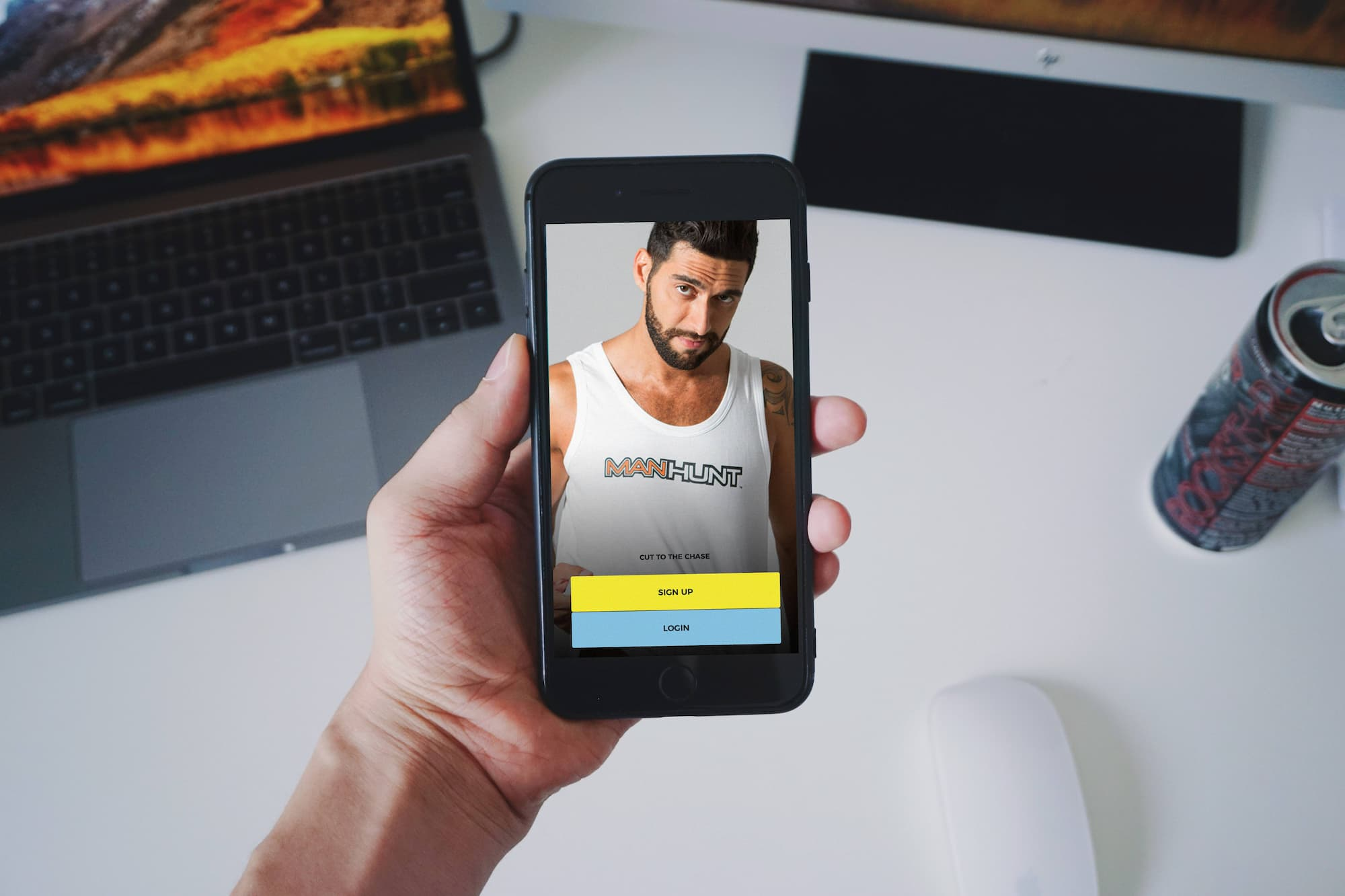 Gay dating app Manhunt hacked, exposing thousands of users' data