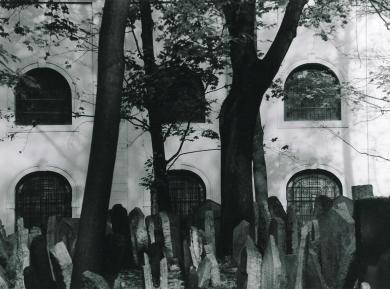 Praag - Joodse begraafplaats