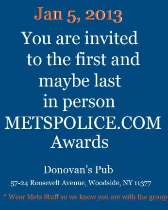 invite to awards