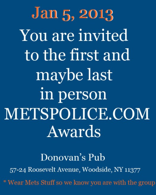 invite to awards
