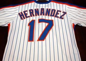 MetsPolice.com Hernandez racing strip jersey