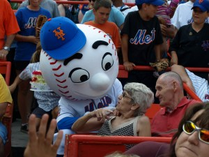 Mr. Met and My Mom