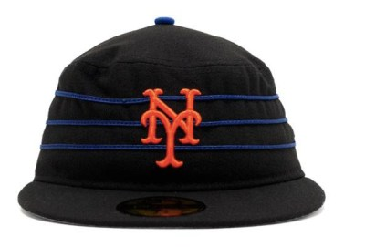 Science create Black Pillbox Mets Cap Monster - The Mets Police b6cb967edb61