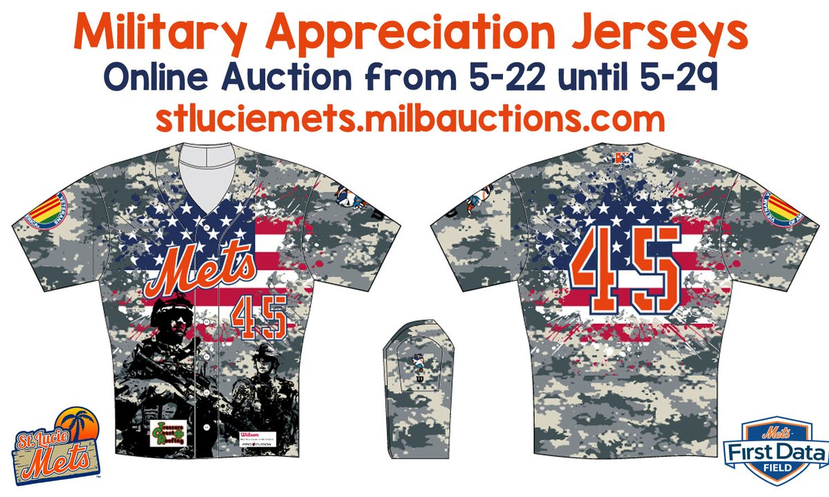 online store 8ceca 4cb75 st lucie mets memorial day jersey - The Mets Police