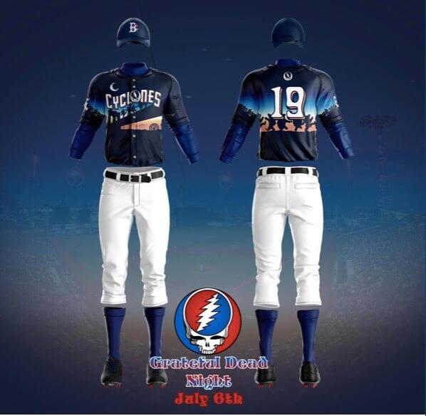 brooklyn cyclones jersey