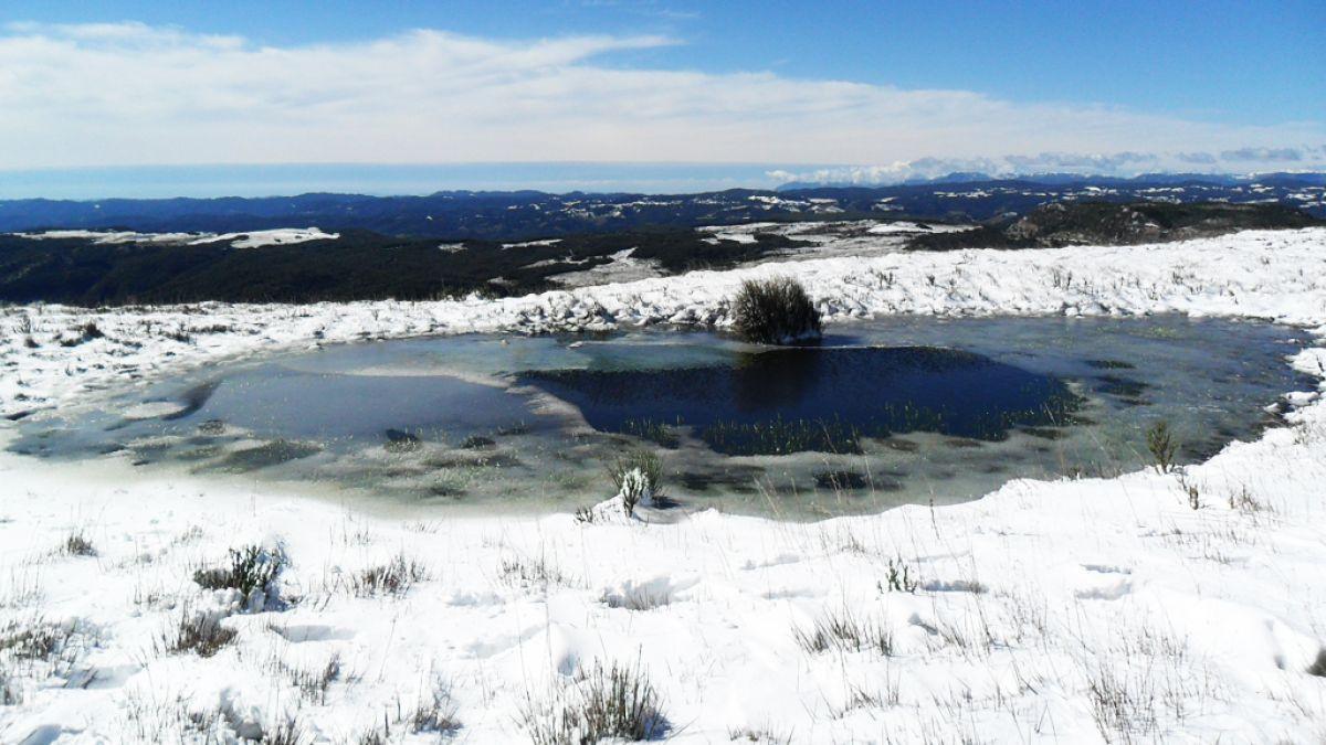 Nieve en Latinoamérica