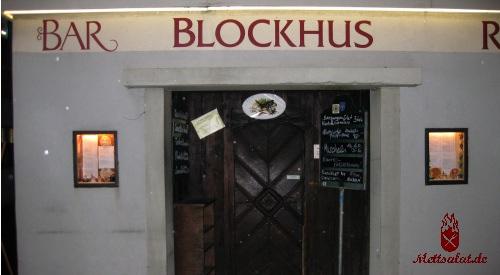 Das Blockhus in Zürich - von aussen eher unscheinbar