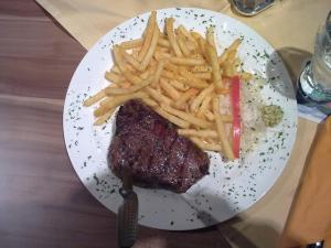 Das 300 g Steak