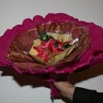 Valentinstag Blumenstrauss aus Wurst 2