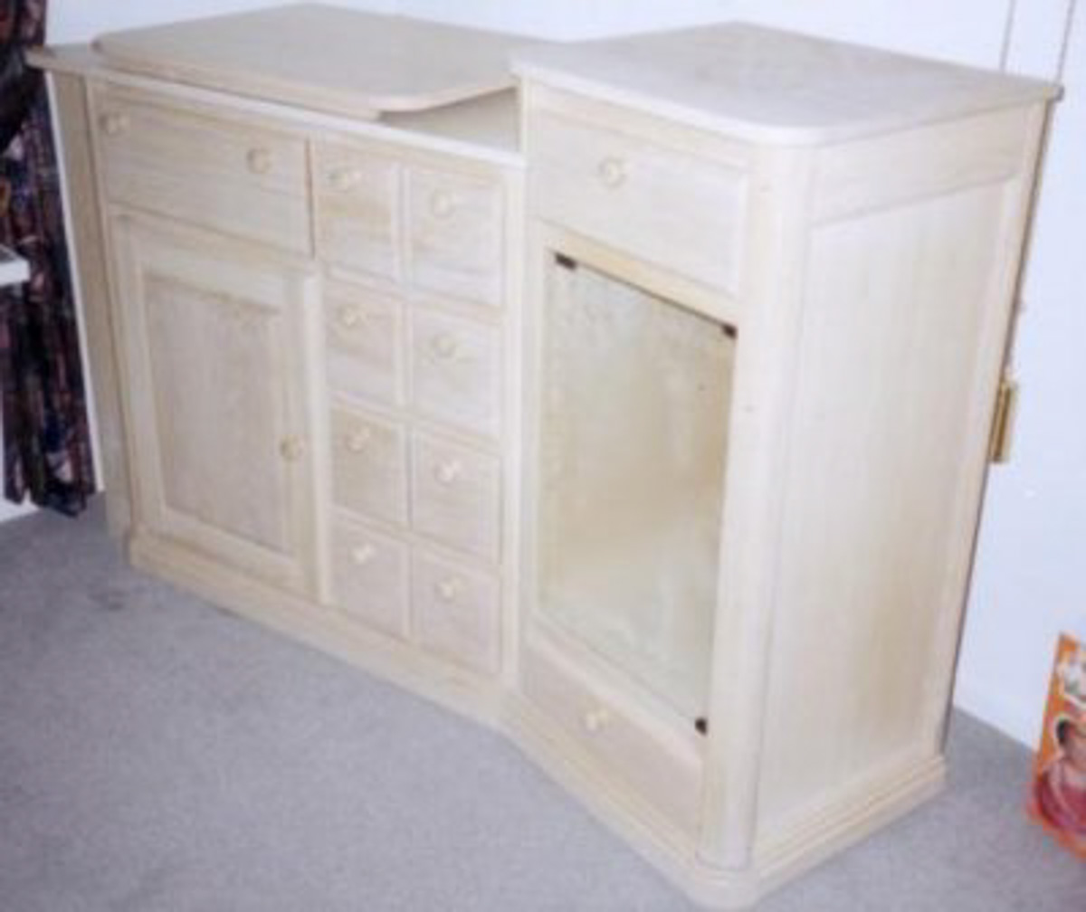 Sidetable Eiken White Wash.Tv Kast Eiken White Wash Meubelmakerij Aad