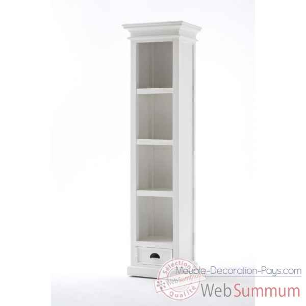 petite bibliotheque avec tiroir collection halifax nova solo ca601