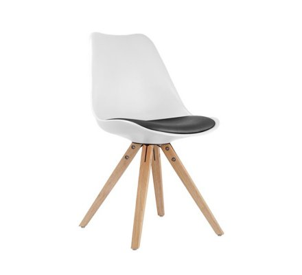 chaise design scandinave rouge scandinave lounge