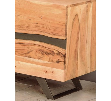 banc tv massif naturel zen