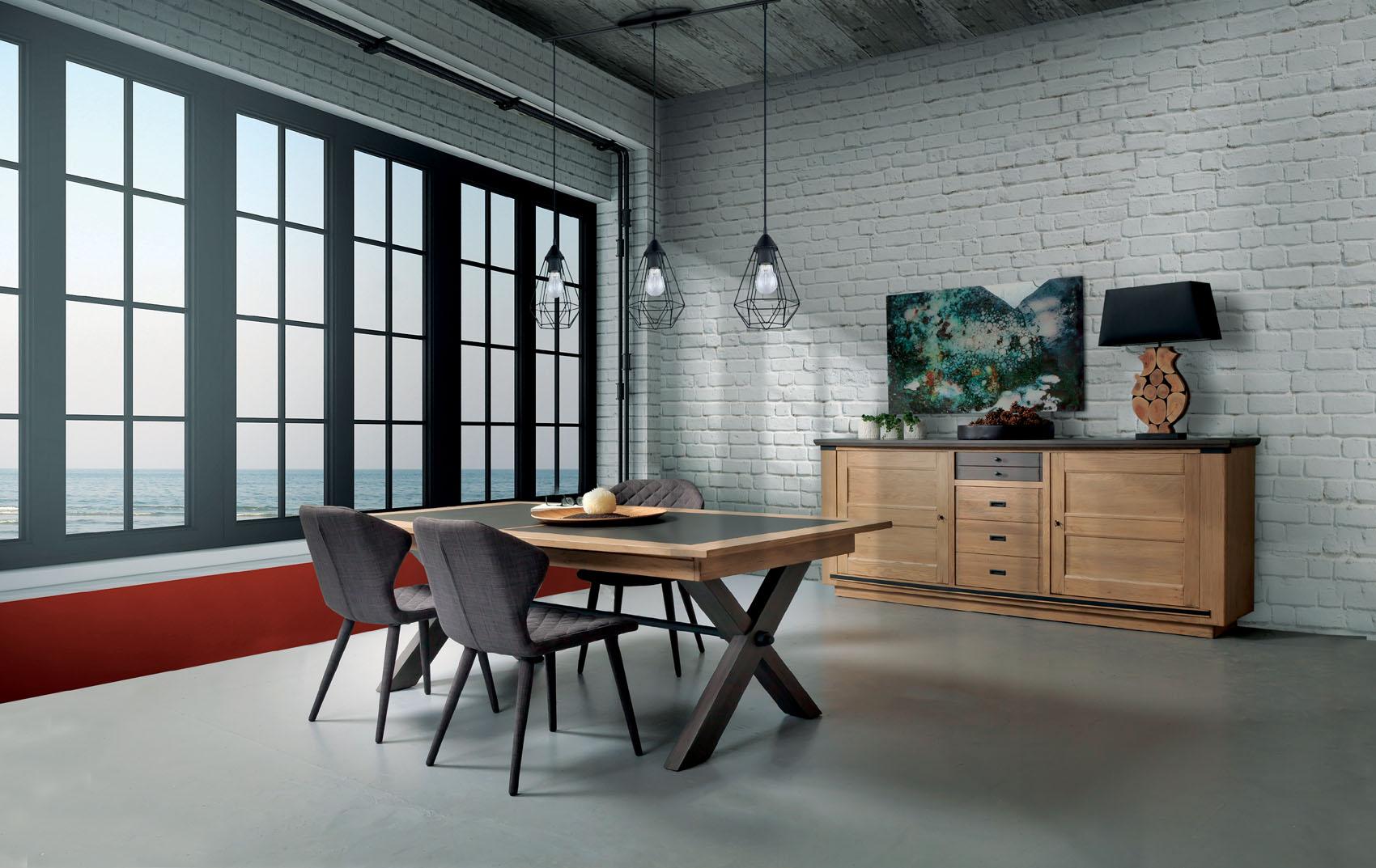 http www meubles gibaud fr shop salle a manger salle a manger magasin meubles gibaud salle a manger industrielle magellan pieds metal