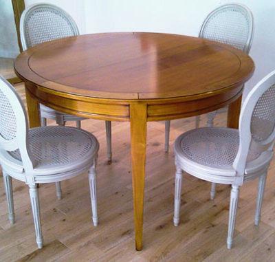 collection de tables ronde meubles hummel