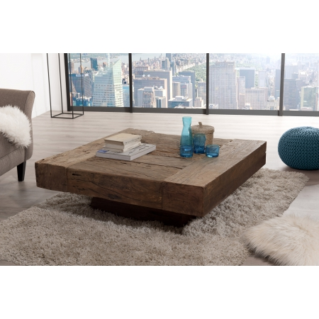 ambiances leonce table basse carree bois massif http www meubles macabane com 3786 thickbox default