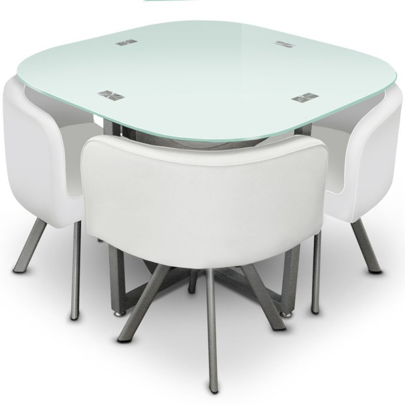 Table Manger Design Et Compacte Mosaic 90 Meuble Et