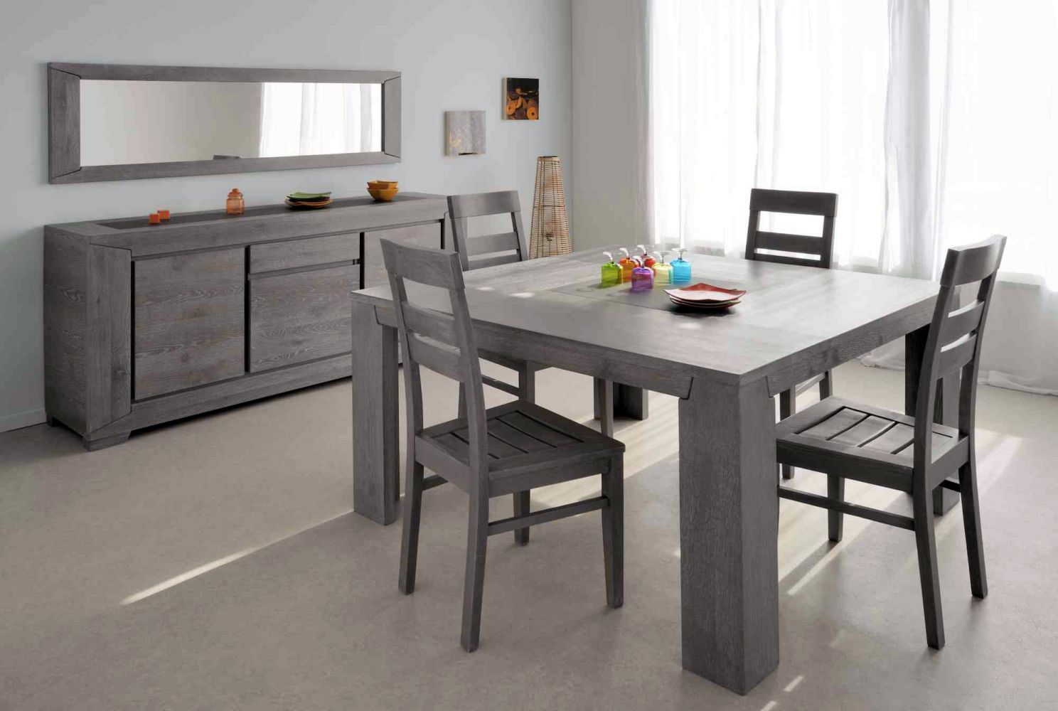 salle a manger complete conforama table