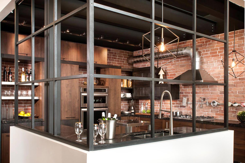 Cuisine Style Design Industriel Idal Pour Loft Ou Grande