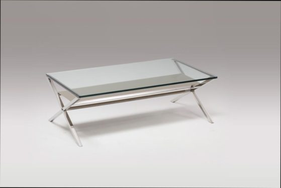 table basse rectangulaire verre laque