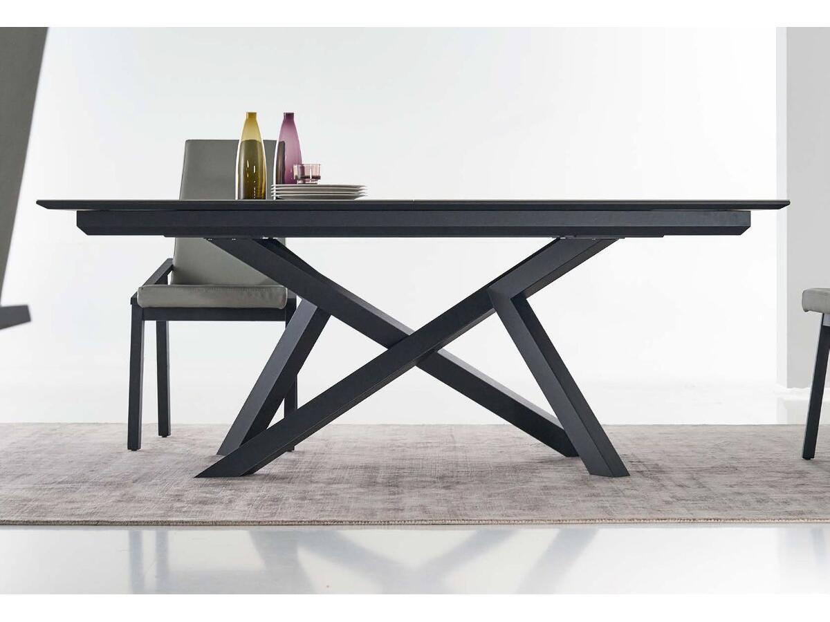 Table Extensible Cramique Pieds Mtal St Junien