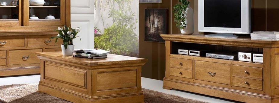salon en bois et meubles de sejour meubles bois massif